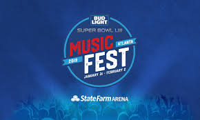 Bud Light Super Bowl Music Festival Etchin Design Super Bowl Music Fest