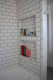 Recessed Shelves Bathroom Bathroom Recessed Shelves In Shower Bathroom Small Area Beauty