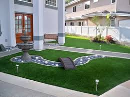 artificial grass front lawn. Modren Lawn Landscaped Synthetic Lawn With Bridge This Kaneohe Synthetic Grass Front   On Artificial Grass Front Lawn