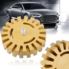 "<b>Rubber Eraser Wheel</b> 4"" for Adhesive Sticker Pinstripe Decal ..."