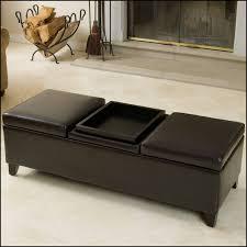 furniture white leather ottoman round storage ottoman coffee table storage ottoman canada cream leather ottoman