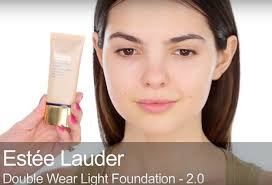 estee lauder double wear light foundation kendall jenner smokey eye makeup tutorial check