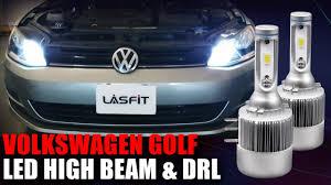 2015 Vw Gti Daytime Running Lights 2015 Volkswagen Golf High Beam Daytime Running Light Drl Led Replacement