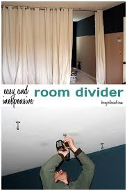 ikea make this room divider from ikea curtain