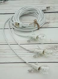 star lantern triple socket white pendant light lamp cord 17 ft