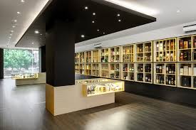 WD01 Luxury Wine Shop Design With Display Furniture | Fresh High End Wine  Store Design