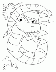 Coloring Page Snake Coloring Home
