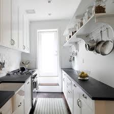 Charming Designs For Small Galley Kitchens Magnificent Ideas