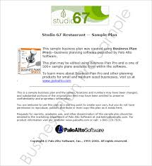 Business Plan Template Us Business Proposal Template For Restaurant ...