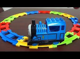 Rainbow Railway Train Course <b>Thomas & Friends</b> Block <b>Electric</b> ...