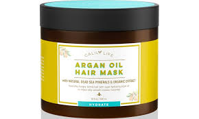 calily life organic moroccan argan oil hair mask with dead sea minerals 16 9 oz