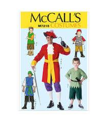 Pirate Costume Pattern Beauteous McCall's Pattern M48Men'sChildren'sBoys' Pirate Costumes JOANN