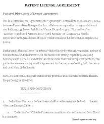 Royalty Free License Agreement Template Luxury Lease Software Download