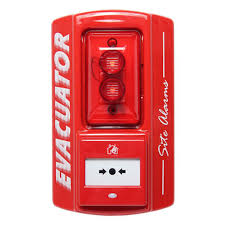 evacuator sitemaster call point site alarm