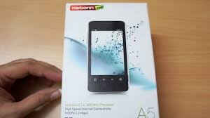 Karbonn A5 Android phone unboxing ...