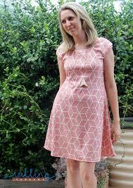 Knit Dress Pattern Inspiration Ladies Spellbound Fit Flare Dress Pattern Emporium