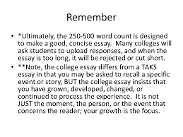 common application essay topic pre writing strategies ppt remember