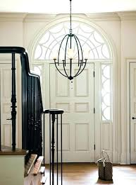 2 story foyer chandelier lighting ideas light size throughout entryway how high to hang in