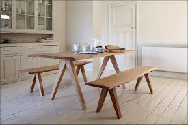 Fascinating Idea Kitchen Table With Bench Image Of Benches Fsbcard
