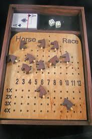 Wooden Horse Racing Game Deluxe Horse Race Game Race games Horse and Gaming 54