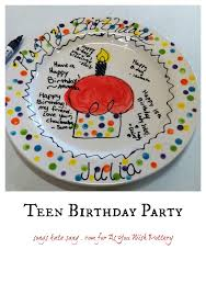 pottery painting parties the perfect party for teens