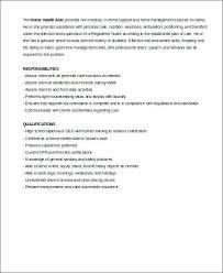 home health aide job description for resume home health aide job description  for resume home health