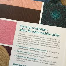 Confessions of a Fabric Addict: The Ultimate Guide to Machine ... & This is a really interesting book, and unique in that it discusses both long -arm and sit-down machine quilting options for each project. Adamdwight.com