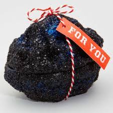 Image result for santa's coal