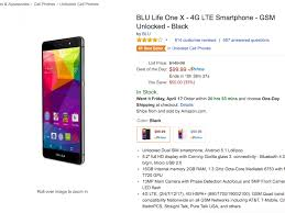 Deal: BLU Life One X for $99 on Amazon ...