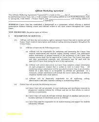 New Co Marketing Agreement Template Form Sample Consultant House ...