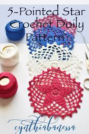 Crochet 5 Point Star Pattern Unique Inspiration Ideas