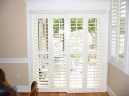 Patio Door Window Treatments Sliding Glass Blinds French Curtains ...