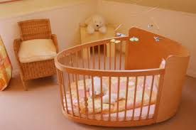 The price of the round cribs furniture for babies