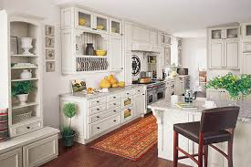 Look Fresh Using White French Country Kitchen Cabinets