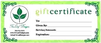 Make Your Own Gift Certificate Free Printable Small Certificate Template