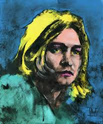 jaroslaw glod artwork kurt cobain original painting other famous people art