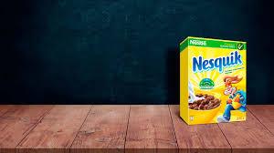 <b>Шоколадные шарики</b> Nesquik с молоком