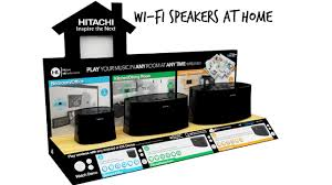 hitachi speakers. hitachi \u2013 wi-fi speakers for the home | newswatch review