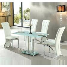 frosted glass dinning table jet small frosted glass dining table with 4 white chairs frosted glass frosted glass dinning table