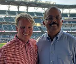 "BHMI on Twitter: ""BHMI's Marc Vaughn & ATPC's Dobbin Prezzano enjoyed last  night's Q3 Board Meeting Reception in SunTrust Park, home of the @Braves.…  https://t.co/OfIM8BqYwO"""