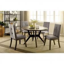 abelone gray round dining set