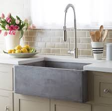 Concrete Sink Diy Ribblesdale Apron Front Fireclay Sink With Overflow For The Home