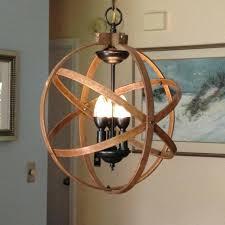 rustic industrial lighting orb chandelier light atomic fixture pendant lamp canada