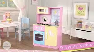 Pastel Kitchen Kidkraft Fun Pastel Play Kitchen Youtube