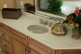 corian countertop bathroom