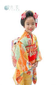 七五三着物レンタル 新日本髪ヘアスタイル 七歳女の子 レンタル着物