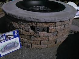 home and furniture enchanting how to make a gas fire pit of build outdoor firepit