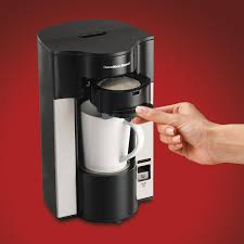 Coffee Maker K Cup And Pot Amazoncom Hamilton Beach Stay Or Go Personal Cup Pod Coffee