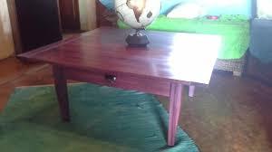 purple heart wood furniture. Purple Heart Coffee Table Wood Furniture