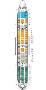 Jal Boeing 777 Seating Chart Business B777 300er W82 Japan Airlines Seat Maps